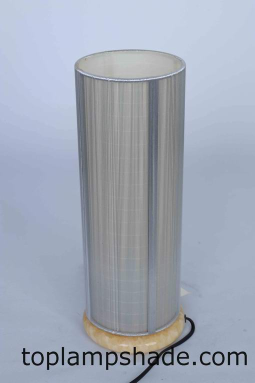 Cylinder String Wrapped Floor Lamp Shade-FS37001