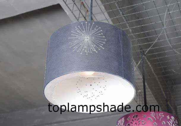Drum Pin Hole Hardback Lamp Shade Ls12003 Manufacturer