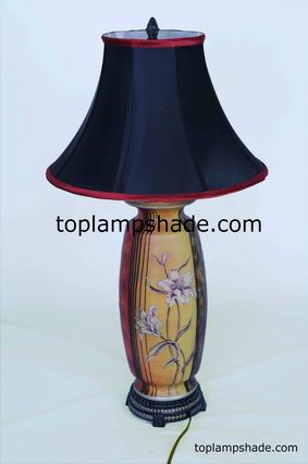 Empire Bell Fabric Lampshade-LS1530