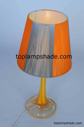 String Wrapped Table Lampshade-LS1563