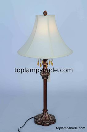 Empire Bell Fabric Table Lampshade-LS1745