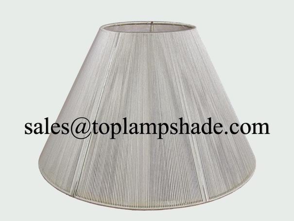 string wrapped lamp shade
