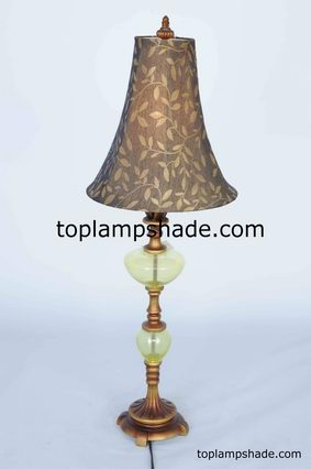 Bell Printed Fabric Lampshade-LS1912