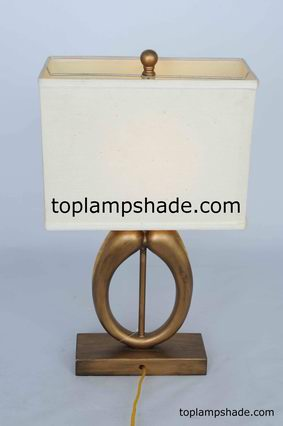 Rectangle Linen Hardback Table Lampshade-LS1926