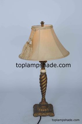 Empire Bell Fabric Table Lampshade-LS1933