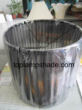 Drum Ribbon Wrapped Floor Lamp Shade Ls20001 Manufacturer