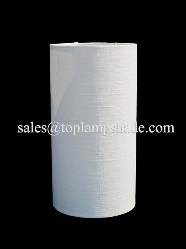 Cylinder Linen Lamp Shade
