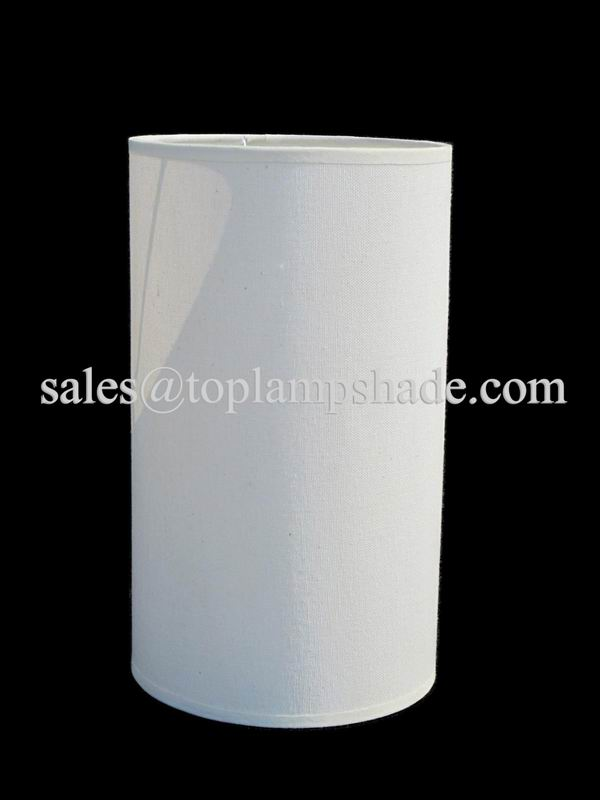 Cylindrical Linen Lamp Shade