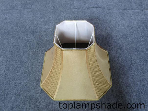 Square Cut Corner Faux Silk Softback Floor Lamp Shade Ls9013
