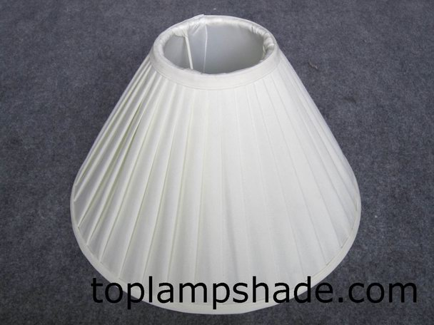 Empire Faux Silk Pleated Table Lamp Shade-LS9014