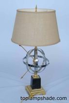 Drum Linen Hardback Table Lampshade-LS1638