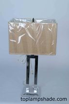 Square Hardback Table Lampshade-LS1664