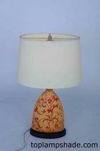 Oval Fabric Hardback Table Lampshade-LS1683