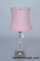Deep Curve Bell Fabric Table Lampshade-LS1770