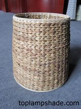 Cylinder Rope Wicker Lamp Shade-LS18002