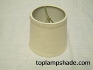 "5"" Linen Drum Chandelier Shade LS2101"
