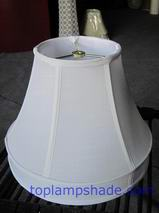 Skirted Fabric Lamp Shade W/ Spider Fitter  LS33302 ...