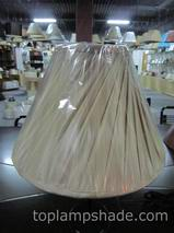 Empire Faux Silk Spiral Pleated Table Lamp Shade-LS5004