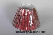 Empire Double Pleated Silk UNO Lamp Shade