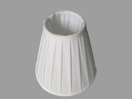 Faux Silk Pleated Lamp Shade